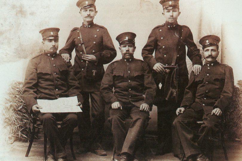 PTT služitelji u Srbiji